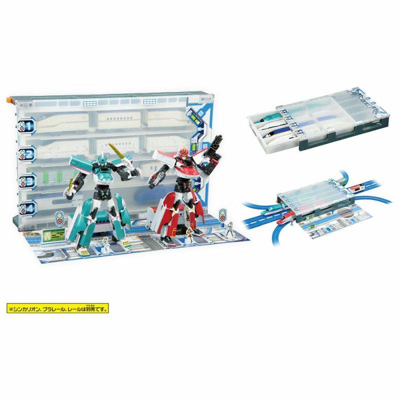 【プラレール】『新幹線変形ロボ シンカリオンZ』 シンカリオンZを格納!ビッグ基地ボックスZ