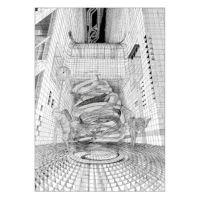 【楳図かずお】絹目写真A4ポスター/私は慎吾01