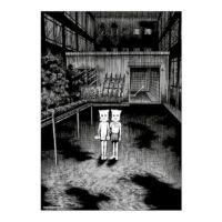 【楳図かずお】絹目写真A4ポスター/私は慎吾03