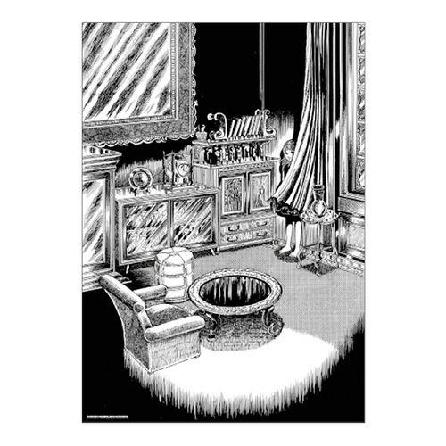 【楳図かずお】絹目写真A4ポスター/おろち02